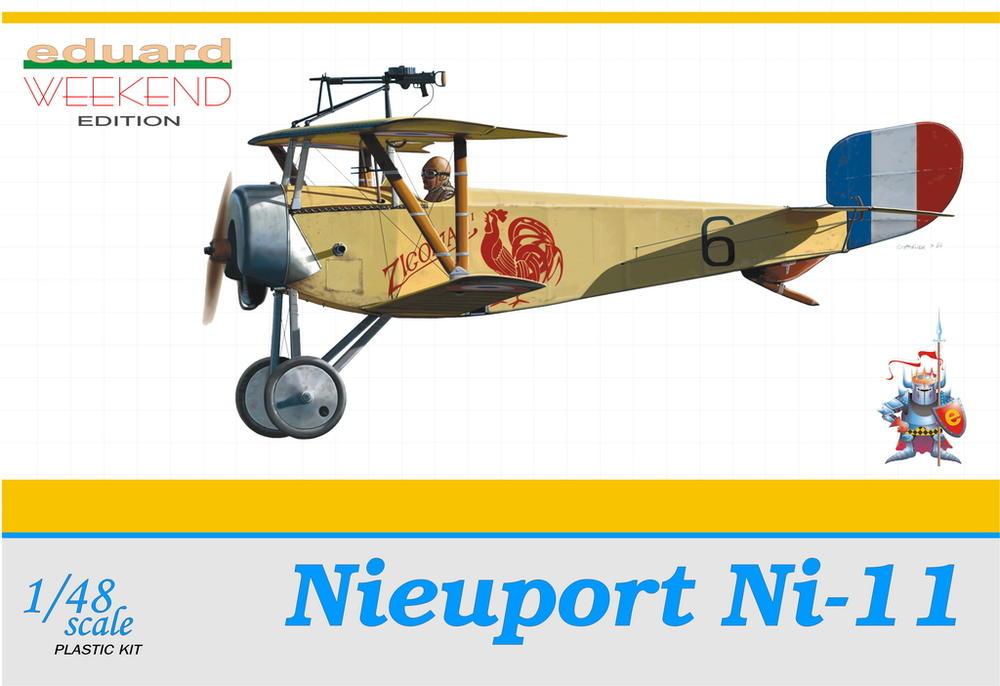 Eduard-Nieuport-11 15. Juli 1915 - der erste Luftsieg mit einem Fokker Eindecker