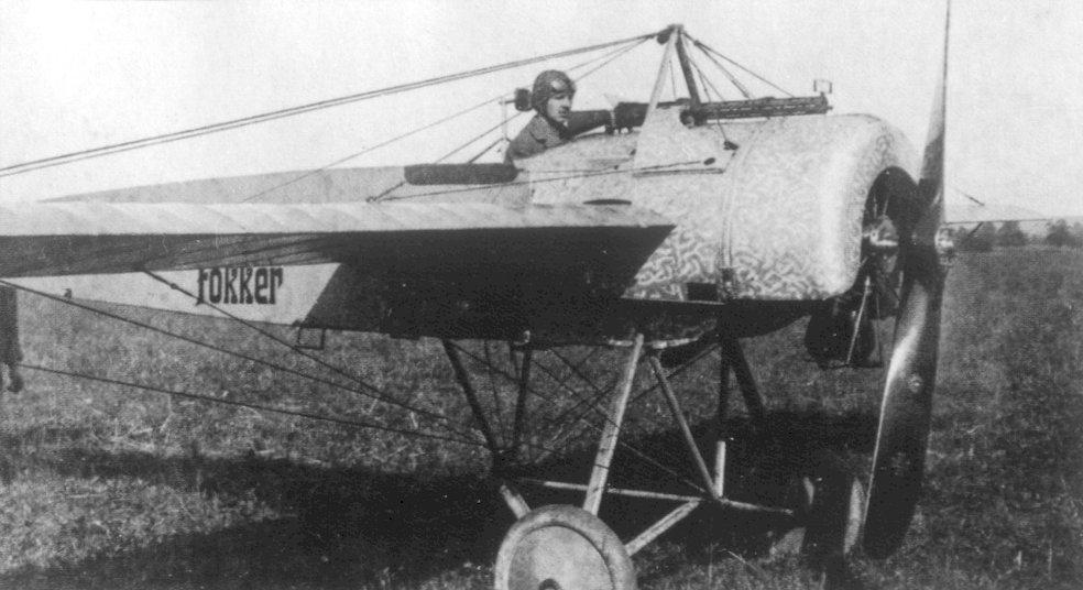 Fokker_EII_WNr_257 15. Juli 1915 - der erste Luftsieg mit einem Fokker Eindecker
