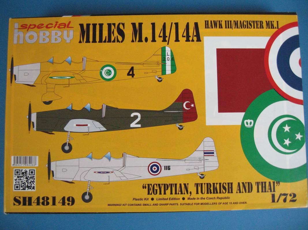 SH-Miles-Magister-Türkei-Ägypten-2 Miles Magister von Special Hobby im Maßstab 1:48