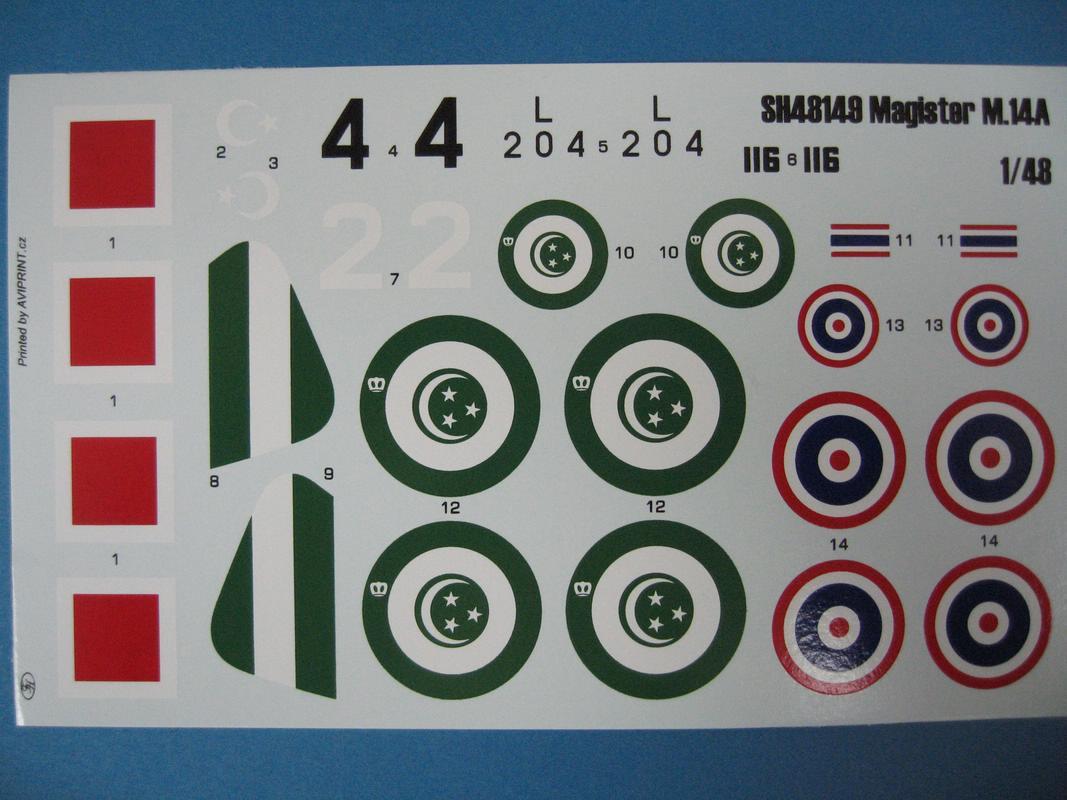 SH-Miles-Magister-Türkei-Ägypten-8 Miles Magister von Special Hobby im Maßstab 1:48