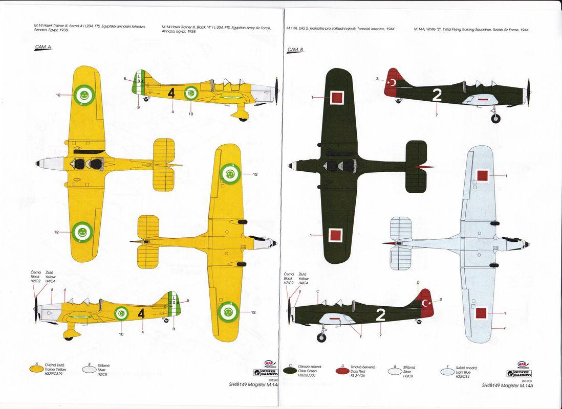 SH-Miles-Magister-Türkei-Ägypten Miles Magister von Special Hobby im Maßstab 1:48