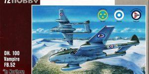 "de Havilland Vampire FB.52 ""In Northern Skies (1:72 Special Hobby)"