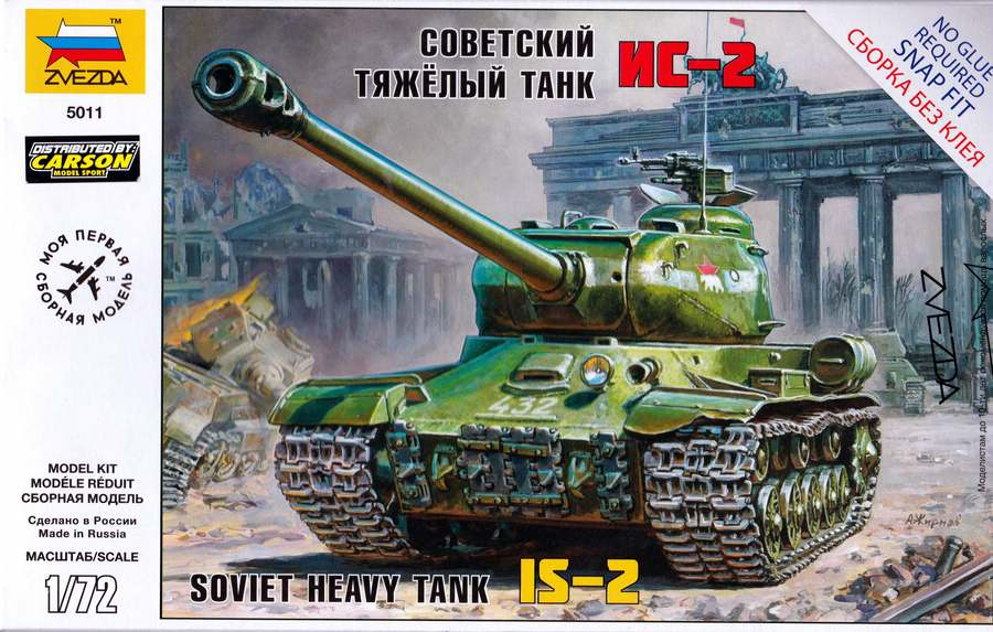 Zvezda-IS-2-1zu72-10 IS-2 von Zvezda im Maßstab 1:72