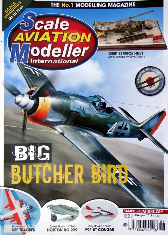 13 Lesestoff von den britischen Inseln – SAMI (Scale Aviation Modeller International)