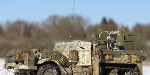 M16 Multiple Gun Motor Carriage in den Ardennen (Dragon 1:35)