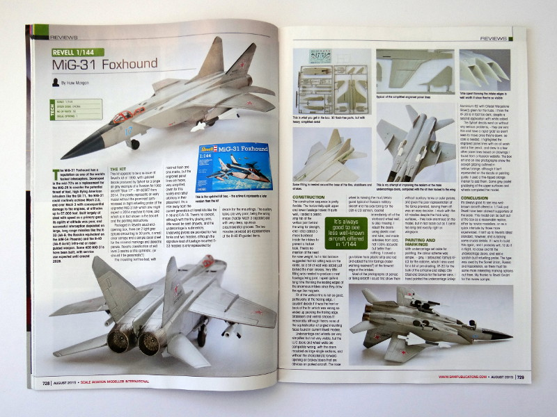 21 Lesestoff von den britischen Inseln – SAMI (Scale Aviation Modeller International)