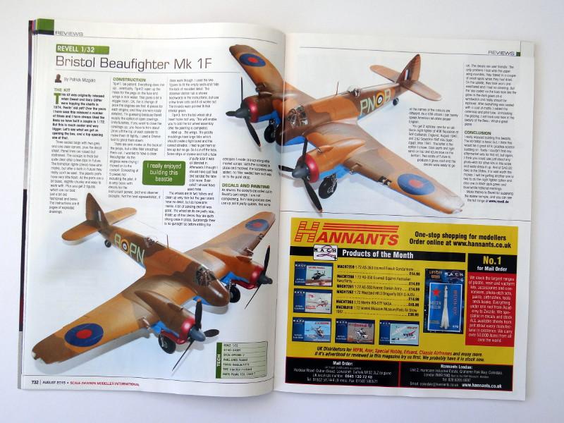 31 Lesestoff von den britischen Inseln – SAMI (Scale Aviation Modeller International)