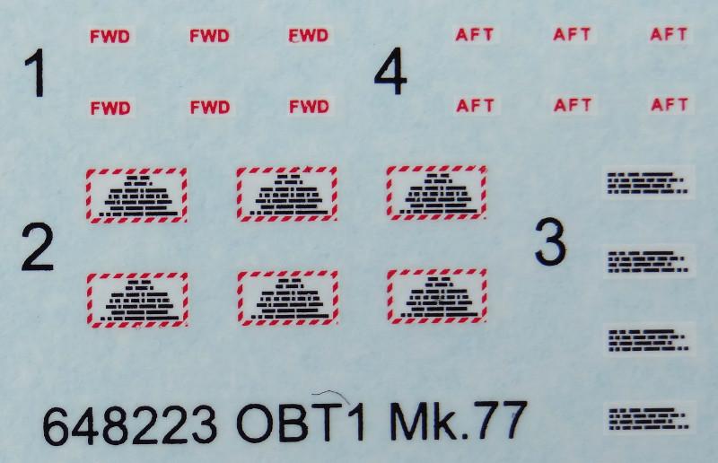 48 Aussenlasten für moderne US Jets von Eduard in 1:48