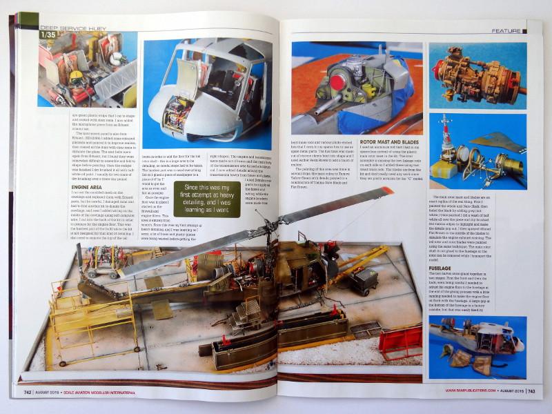 61 Lesestoff von den britischen Inseln – SAMI (Scale Aviation Modeller International)