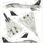 "A-150x150 ""Danger Zone"" F-14A Eduard 1:48"