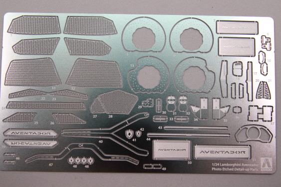 Aoshima-Lamborghini-Aventador-Zurüstteile-2 Zurüstteile für den Lamborghini Aventador von Fujumi