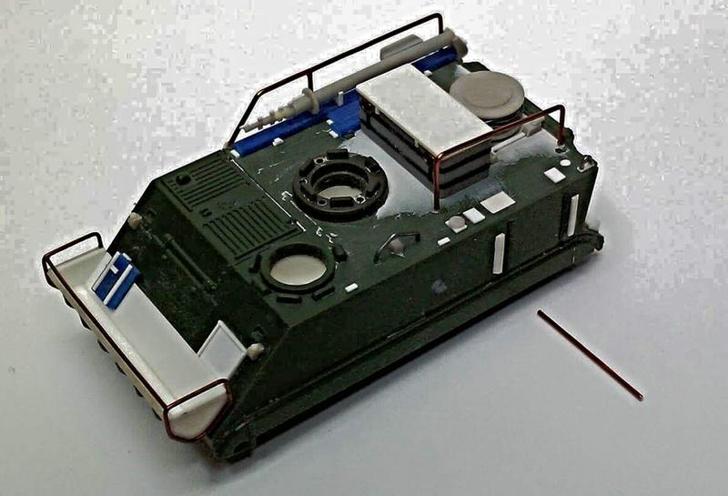 Arsenal-M-M113-Multiplex 1:87 Militärneuheiten im Juli/August 2014