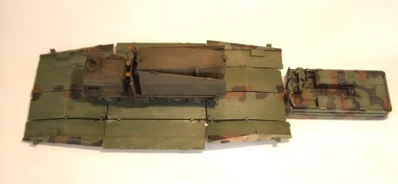 ArsenalM-Faltschwimmbrückensystem 1:87 Militärneuheiten im Juli/August 2014