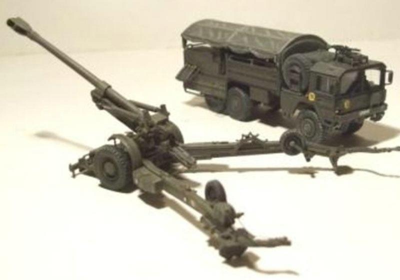 ArsenalM-Feldhaubitze-70 1:87 Militärneuheiten im Juli/August 2014