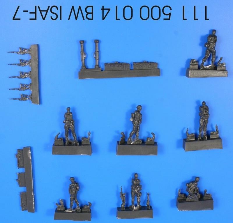 ArsenalM-ISAF-Figuren 1:87 Militärneuheiten im Juli/August 2014