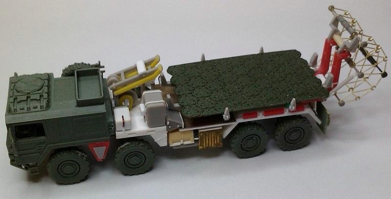 ArsenalM-MAN-Faltstrassenverlegegerät 1:87 Militärneuheiten im Juli/August 2014