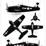 Eduard-8224-F6F-5-Hellcat-14-150x150 F6F-5 Hellcat late version von Eduard (ProfiPack # 8224)