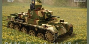 """ungarischer Panzer """"Toldi"""" im Maßstab 1:72 von IBG"""