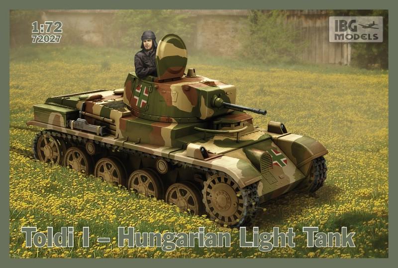 """IBG-72er-Toldi-I ungarischer Panzer """"Toldi"""" im Maßstab 1:72 von IBG"""