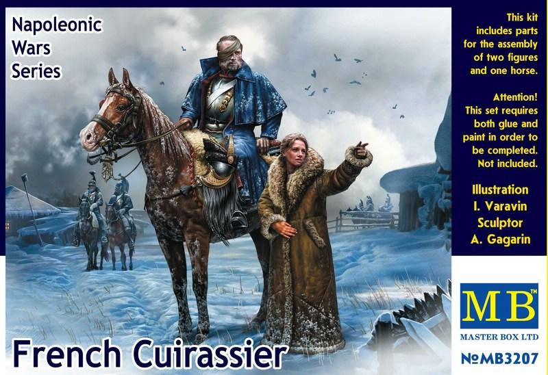MasterBox-3207-French-Cuirassier-Deckelbild MasterBox stellt neue Figuren vor - der französische Kürassier