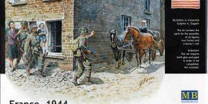 """""""France 1944"""" – Vignette von Masterbox im Maßstab 1:35"""