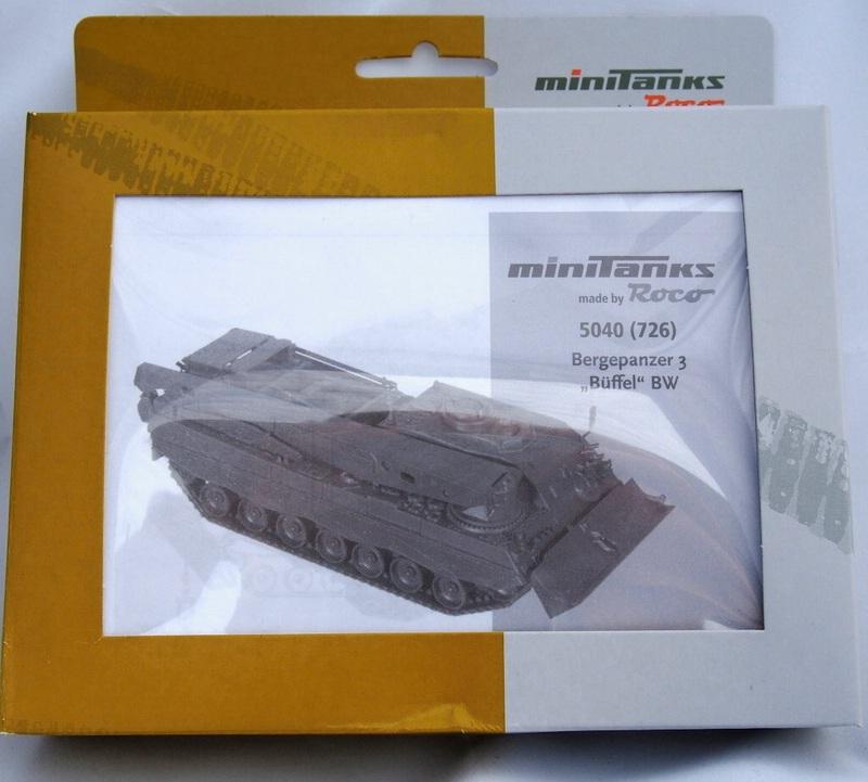 Minitanks-Bergepanzer 1:87 Militärneuheiten im Juli/August 2014