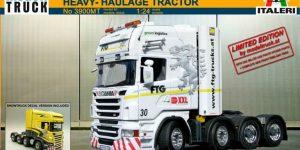 Scania R 730 8×4 Heavy Haulage (1:24 Bausatz auf Italeri-Basis)
