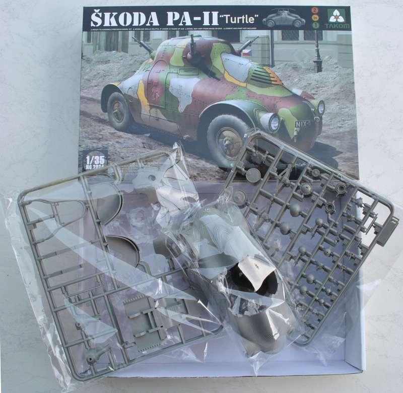 "TAKOM-Skoda-PA-II-1 Skoda PA-II ""Turtle"" von TAKOM im Maßstab 1:35"