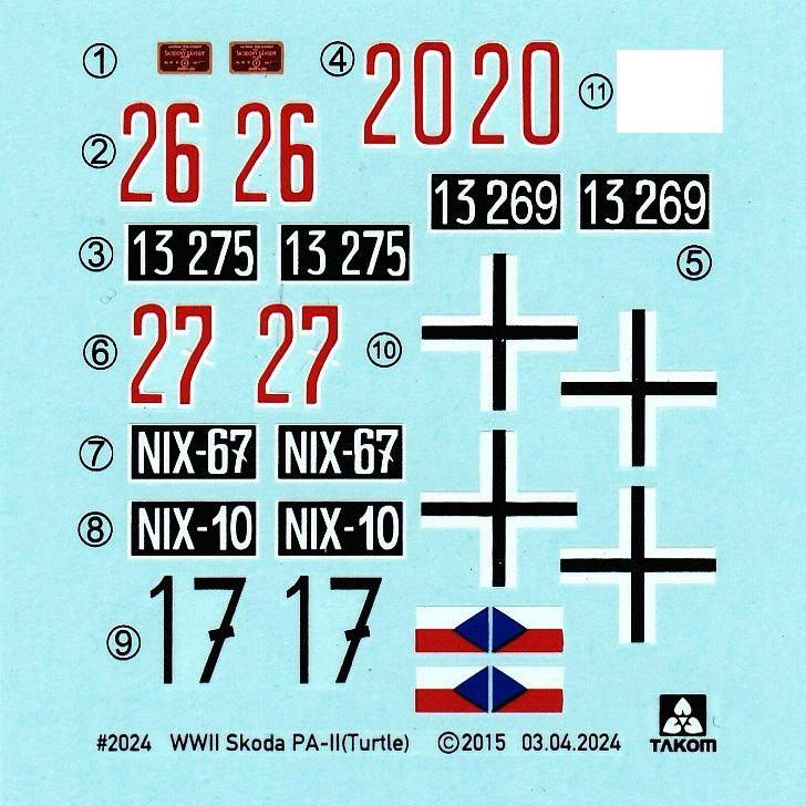 "TAKOM-Skoda-PA-II-22 Skoda PA-II ""Turtle"" von TAKOM im Maßstab 1:35"