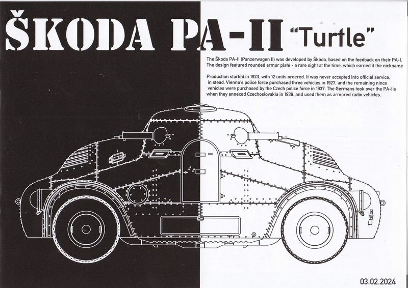 "TAKOM-Skoda-PA-II-27 Skoda PA-II ""Turtle"" von TAKOM im Maßstab 1:35"