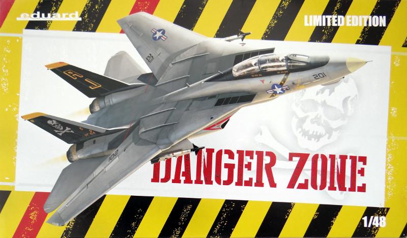 "Titelbild ""Danger Zone"" F-14A Eduard 1:48"