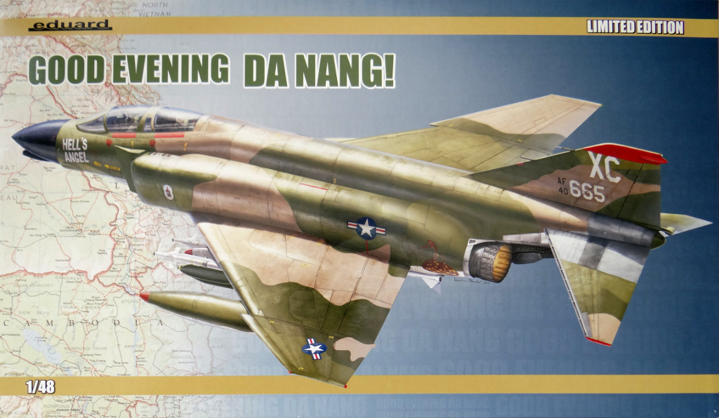 "deckel ""Good Evening Da Nang"" F-4C Phantom Eduard 1:48"