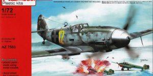 "Bf 109 G-10 ""Special Markings"" von AZ Model im Maßstab 1:72"