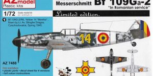 Messerschmitt Bf 109 Ga-2 in Romanian service (AZ Model 7488)