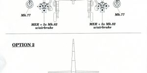 A-4E/F Scooter armament set von Eduard im Maßstab 1:48