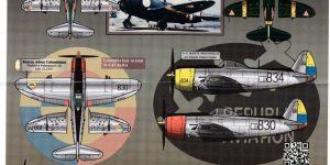 "Latin American P-47 Thunderbolts ""Juicy Jugs"" von Aztec (1:72 und 1:48)"