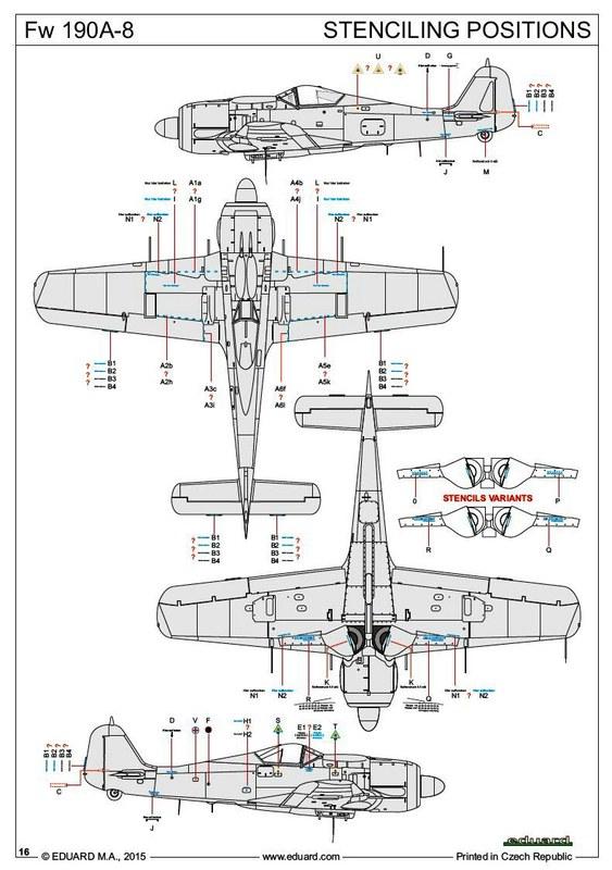 Eduard-70111-FW-190-A-8-42 FW 190 A-8 im Maßstab 1:72 von Eduard