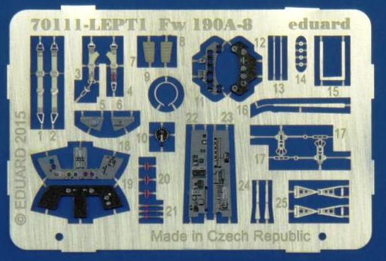 Eduard-70111-FW-190-A-8-48 FW 190 A-8 im Maßstab 1:72 von Eduard