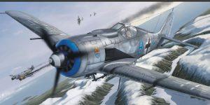 FW 190 A-8 im Maßstab 1:72 von Eduard