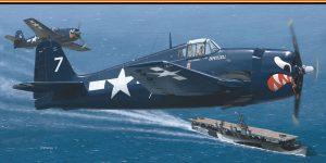 F6F-5 Hellcat von Eduard im Maßstab 1:72