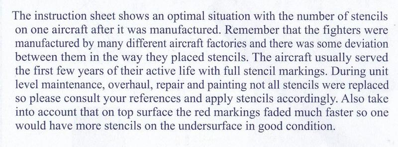 Eduard-72007-MiG-15-stencils-4 MiG-15 Wartungshinweise von Eduard im Maßstab 1:72