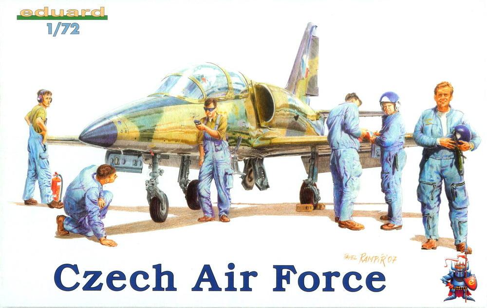 Eduard-7501-Czech-Air-Force-Personnel 4. November 1968: Erstflug der Aero L-39 Albatros (Eduard WEEKEND 1:72)