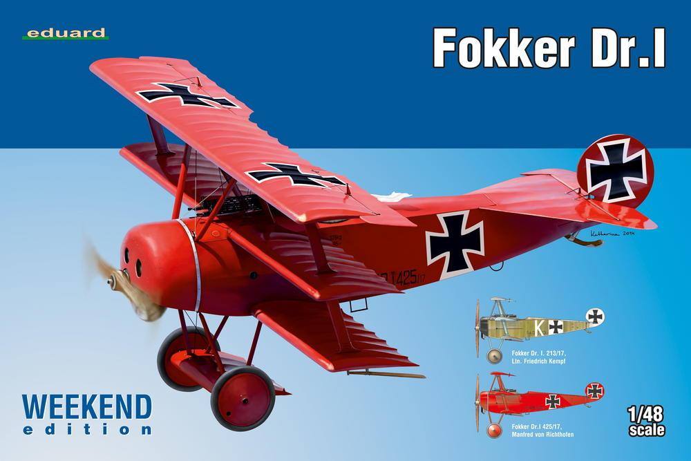 Eduard 8492 Fokker Dr.I Weekend (12)