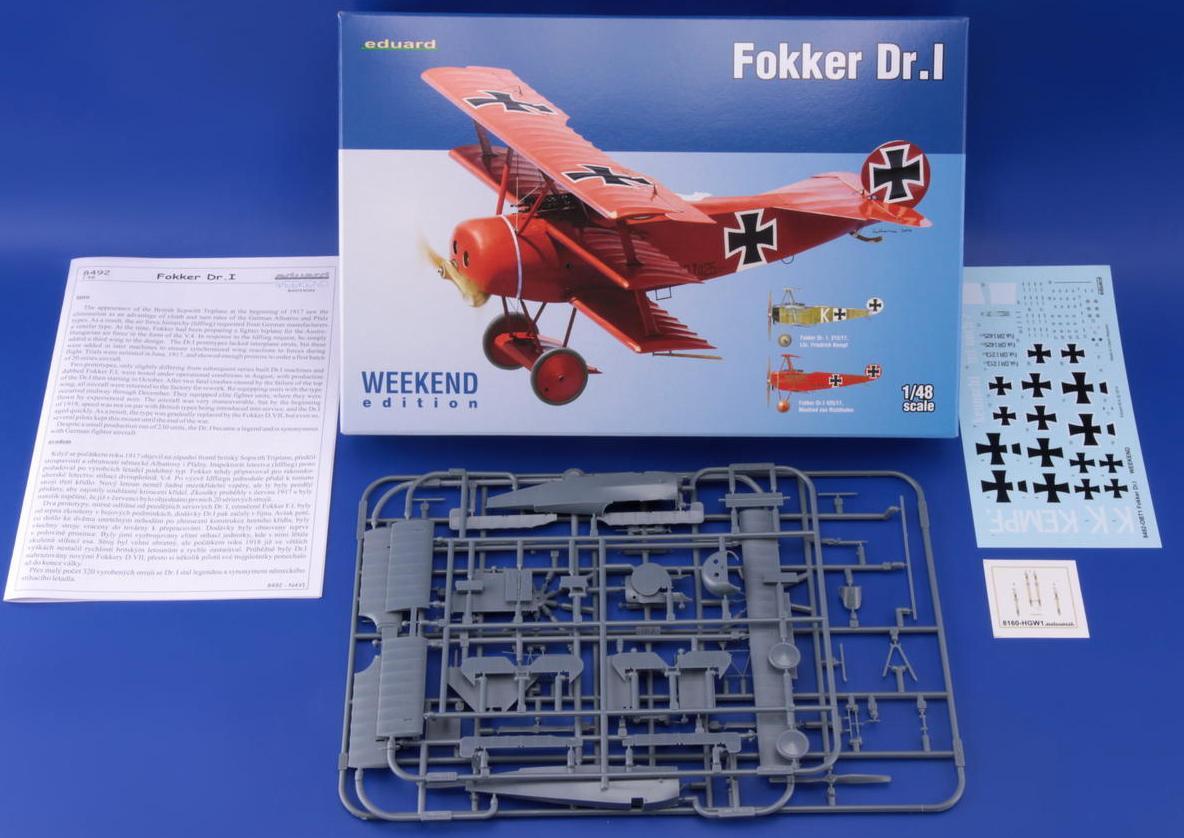 Eduard-8492-Fokker-Dr.I-Weekend-13 Fokker Dreidecker Dr.I von Eduard (1:48)