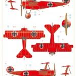 Eduard-8492-Fokker-Dr.I-Weekend-8-150x150 Fokker Dreidecker Dr.I von Eduard (1:48)