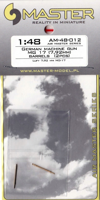 MASTER-AM-48012-MG-17-3 Flugzeug-Maschinengewehr MG 17 von Master im Maßstab 1:48
