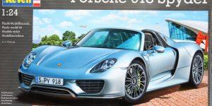 Porsche 918 Spyder – Revell 1/24 – #07026