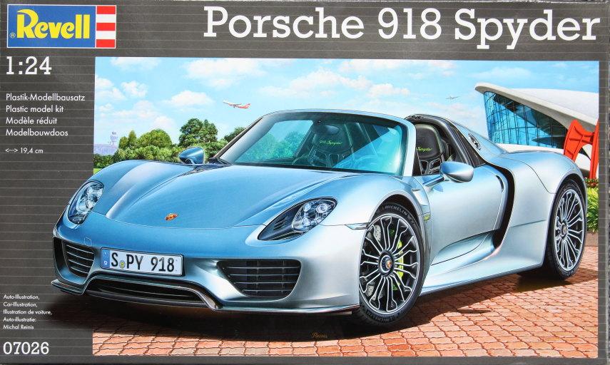 Porsche_918_17 Porsche 918 Spyder - Revell 1/24 - #07026