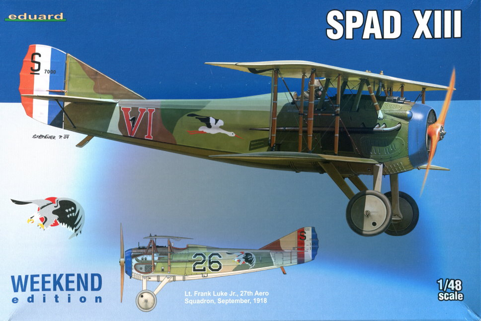 Spad_XIII_09 Spad XIII - Eduard 1/48 Weekend Edition - #8425