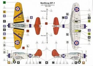 VALOM-72016-Northrop-BT-1-8-300x213 VALOM 72016 Northrop BT-1 (8)